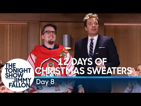 12 Days of Christmas Sweaters 2019: Day 8
