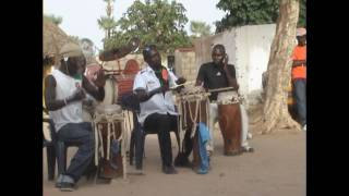 preview picture of video 'Traditional Serere Drumming and Dance - Mariage at Fandene near Thies Senegal'