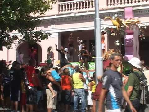 Alegría y color Carnaval Infantil Cienfuegos 2012