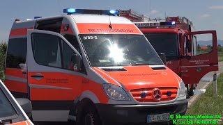 preview picture of video '[E] - [PKW überschlagen] + UNFALL + Altenriet + K1236 + RETTUNGSHUBSCHRAUBER + Feuerwehr + DRK'