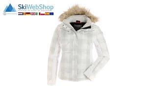 Icepeak, Camille, ski-jas, dames, wit/grijs