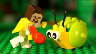 👻💀 СУПЕР СТИВ - Мультфильмы ЛЕГО Майнкрафт Все Серии Подряд Видео для Детей LEGO Minecraft