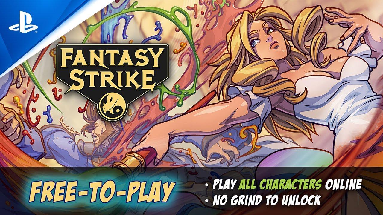 Fantasy Strike ist jetzt Free-to-Play!
