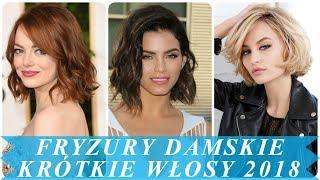 Fryzury Na Krótkie Włosy Damskie 2018 免费在线视频最佳电影电视节目