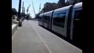 preview picture of video 'قطار القدس الغربية'