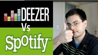 Spotify Vs Deezer - Análise