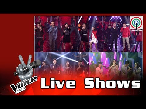 The Voice Teens Philippines Live Show: Teen Coaches Top 12 Queen Medley 2