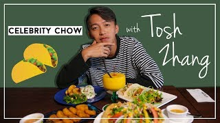 Celebrity Chow with Ah Boys To Men actor, Tosh Zhang