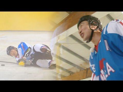 이광수, 김종국 '꽈당' 하자 실성한 듯한 박장대소! 《Running Man》런닝맨 EP443 (видео)