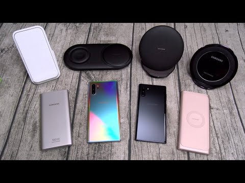 Samsung -  Official Fast Charging Wireless Chargers Lineup