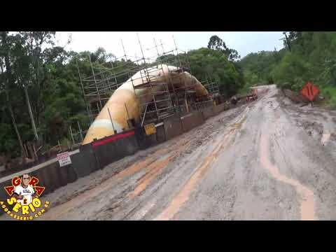 Vereador Chiquinho fiscaliza a pavimentação da Estrada da Sama