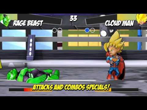 Vídeo do Superheros Jogos de Luta