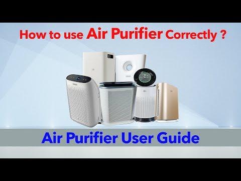 Air Purifier User Guide