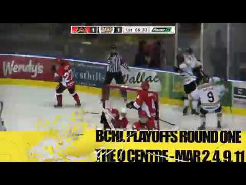 BCHL Playoffs - Round One 2018