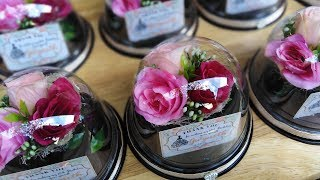 DIY Mini Bouquet Favors For Wedding, Debut And Birthday Souvenir Ideas