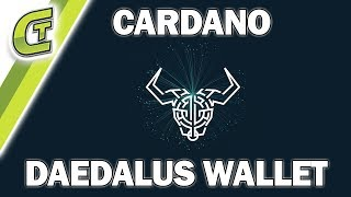 Cardano Daedalus Wallet Review and Test Transaction