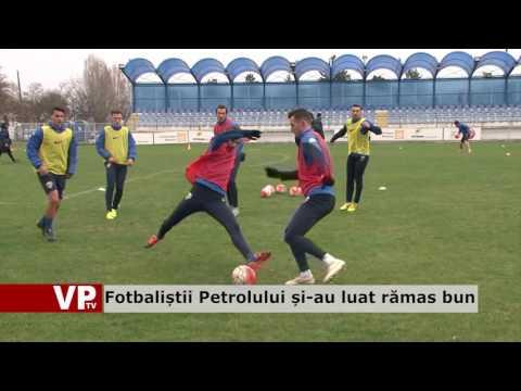 Fotbaliștii Petrolului și-au luat rămas bun