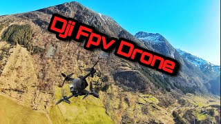 DJI FPV DRONE FLIGHT NORWAY - BIG MOUNTAINS AND WATERFALL - AWESOME DRONE 4K CINEMATIC VIDEO NATURE