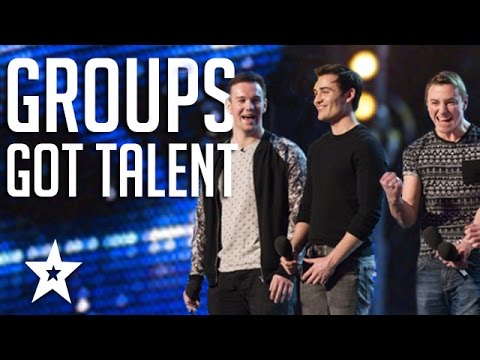 Download TOP 6 Vocal Groups From Americas Got Talent & Britain's Got Talent HD Mp4 3GP Video and MP3