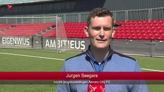 Het nieuwe hoofd opleidingen Almere City FC wil veel talent afleveren