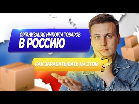 Как организовать импорт товаров в Россию и зарабатывать на этом?   ВЭД   Импорт