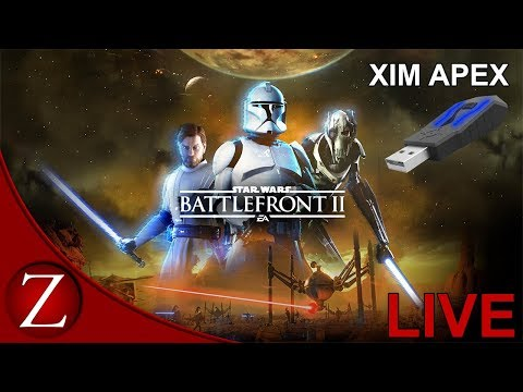 Leveling Officer - Star Wars Battlefront II PS4 Xim Apex Gameplay