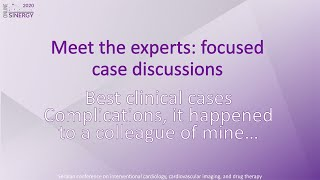 SINERGY 2020 – Meet the experts: Best clinical cases – Complications – Case 1