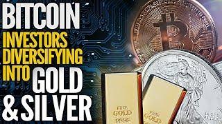 Crypto investors diversify to precious metals