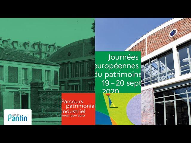 Journées européennes du patrimoine, Pantin, 2020