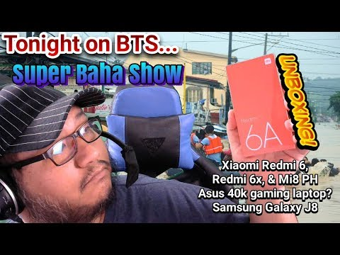 BTS Tech Talk 7/21/2018 – Xiaomi Redmi 6, 6A, & Mi 8, Asus 40k Gaming Laptop?, Samsung Galaxy J8