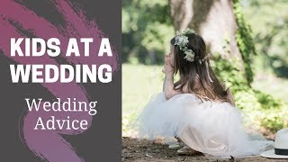 Flower Girls, Ring Bearers and Kids at a Wedding | Wedding advice by Pink Book