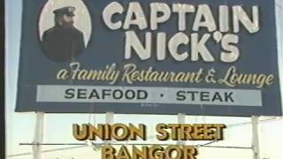 Captain Nick's Family Restaurant Commercial 1988