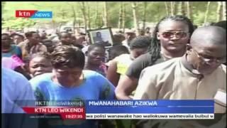 Mwanahabari wa Standard, Masha azikwa