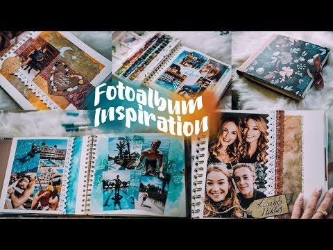 FOTOALBUM INSPIRATION - Travel Diary / Scrapbook DIY // JustSayEleanor (Aquarellfarbe, Türkeiurlaub)