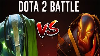 Dota 2 Battle #17 | Earth Spirit Versus Ember Spirit