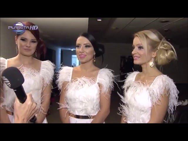 Трио Сопрано за концерта на Веселин Маринов