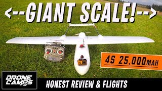 GIGANTIC LONG RANGE FPV PLANE! - Skyhunter 1800mm Honest Review, Setup tips, & Flights