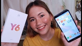 HUAWEI Y6 2018 UNBOXING & QUICK REVIEW | MABAGAL BA TALAGA?