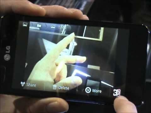 Lg Optimus 3D Max: anteprima video Lg Optimus 3D Max