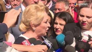 Dăncilă, la BEC, la depunerea candidaturii pentru Președinție: Pentru că iubesc oamenii