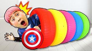 슈퍼히어로 강이 캡틴아메리카 슈퍼맨 헐크 영상 모아보기 SuperHero