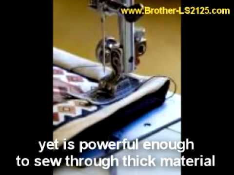 Brother LS2125 Sewing Machine - I Love It