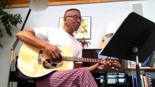 Larry D (w/BIG ukulele) sings The Cherry Tree Carol