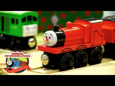 James Goes Buzz Buzz Set Review | Thomas Wooden Railway Discussion #83