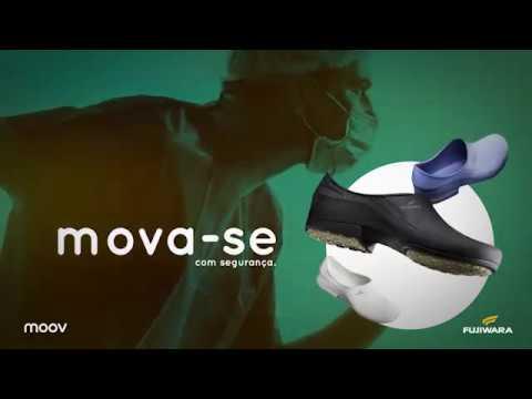 Sapato Ocupacional Moov Preto Fujiwara - Net Suprimentos f06fb40e4c