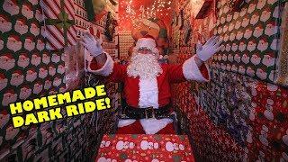 Journey to Polar Point - DIY Home Made Christmas Dark Ride!