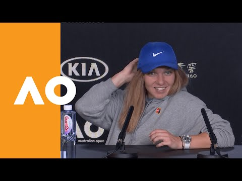 "Simona Halep: ""I've been a little bit more aggressive"" | Australian Open 2020 R1"