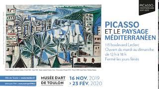 Campagne d'affichage Toulon Métropole - Picasso.