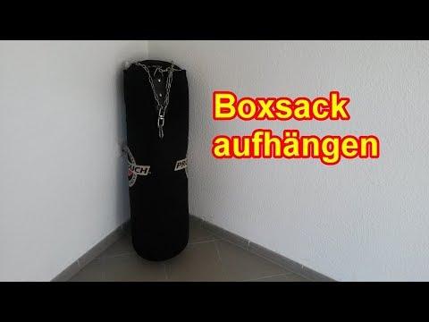 Boxsack richtig aufhängen / Sandsack befestigen - Anleitung