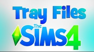 EASY!! How to install  Lots / Sims from Websites | Sims 4 Tray Files Tutorial